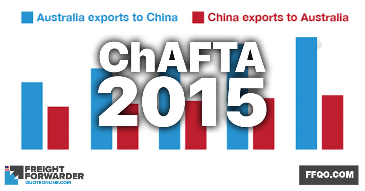 ChAFTA to bring good tidings for Australian importers and exporters