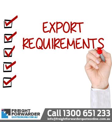Export requirements