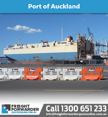 Looking to export sea freight port at Auckland, New Zealand?