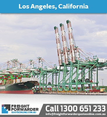 Looking to export sea freight to Los Angeles, California, USA
