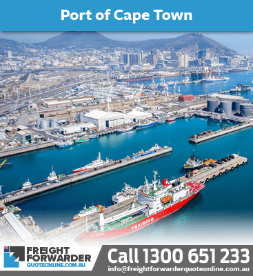 Looking to export sea freight port at Cape Town, South Africa?