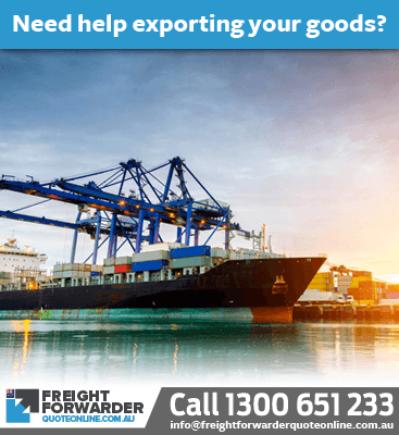 Need help with an export sea freight quote online - call us