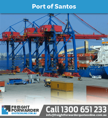 Looking to export sea freight port at Santos, Brazil?
