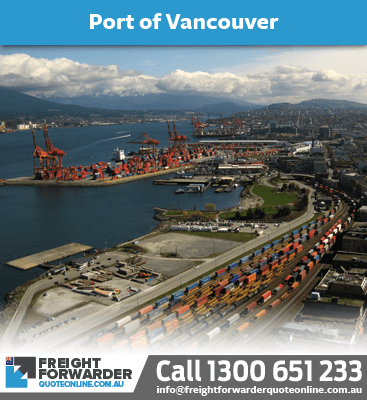 Looking to export sea freight port at Vancouver, Canada?