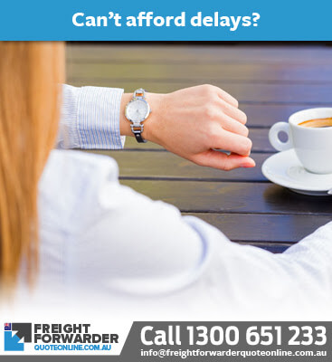 Import air freight with no delays