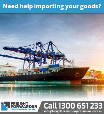 Need help with an import sea freight quote online - call us