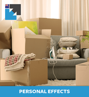 Learn about importing personal effects to Australia