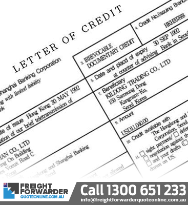 Need help with shipping export documentation letter of credit?