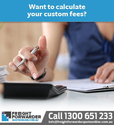 Are you a first time importer that needs help with custom fee calculations?