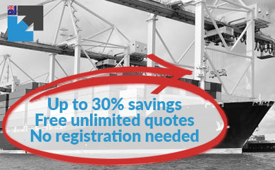 Get your import sea freight quote online to Australia here