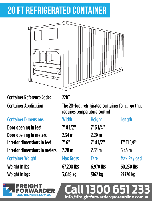 20-foot Refrigerated container