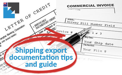 Get the help you need with shipping export documentation