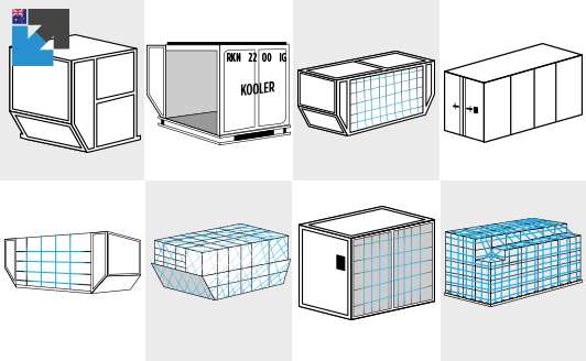 Air freight container sizes guide for Australia