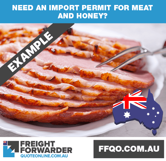 Need an import permit for meat and honey?