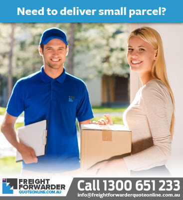 Small parcel delivery is ideal with LCL shipping to Australia
