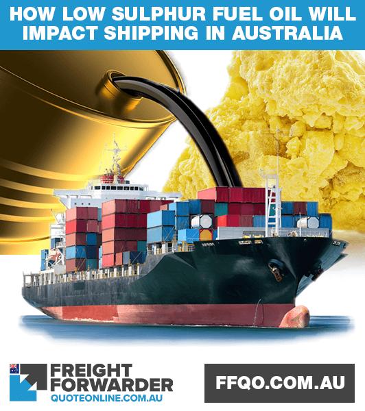 How will low sulphur fuel oil (LSFO) impact international shipping in Australia?