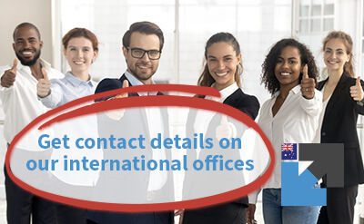 Get contact details on our international offices for Freight Forwarder Quote Online Australia
