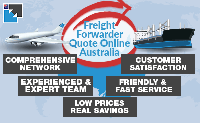 No registration or sign-up with Freight Forwarder Quote Online Australia free calculator. For 24/7 assistance & save up to 30% on costs.